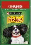 Корм для собак Friskies с говядиной в подливе 85г