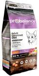 Сухой корм для собак Probalance Adult Gourmet Diet с говядиной и кроликом 15кг