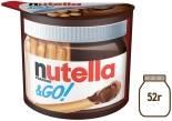 Паста Nutella & Go ореховая с хлебными палочками 52г