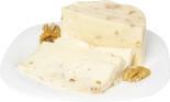 Сыр Ешь Деревенское от Александра Бокова Качотта молодая с грецким орехом 30% 250г