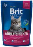 Сухой корм для кошек Brit Premium Cat Adult Chicken Курица с куриной печенью 800г