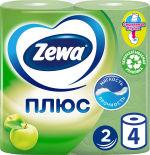 Туалетная бумага Zewa Плюс ароматизированная 4 рулона 2 слоя