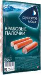 Крабовые палочки Русское море охлажденные 200г