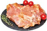 Стейк шейки свиной для барбекю в маринаде