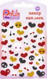 Наклейки Yiwu onccc Patula Stickers Блестящие в ассортименте