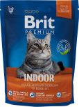 Сухой корм для кошек Brit Premium для домашних кошек с куриной печенью 300г