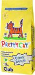 Наполнитель для кошачьего туалета PrettyCat Супер белый комкующийся Лаванда 10кг