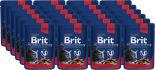 Корм для кошек Brit Premium рагу с говядиной и горошком 100г