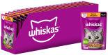 Корм для кошек Whiskas желе с курицей и индейкой 75г