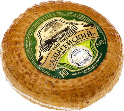 Сыр Адыгейский копченый 45% 0.2-0.4кг