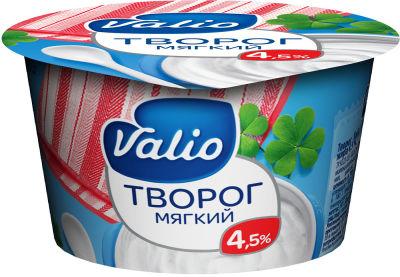 Творог Valio мягкий 4.5% 180г