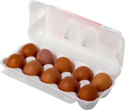 Яйца ПРОСТО С2 коричневые 10шт