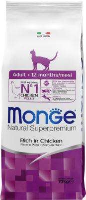Корм для кошек Monge Cat 10кг