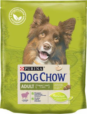 Сухой корм для собак Dog Chow Ягненок 800г