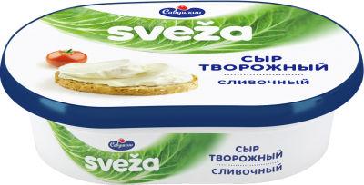 Сыр творожный Sveza Сливочный 60% 150г