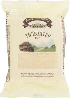 Сыр Брест-Литовск Тильзитер 45% 200г