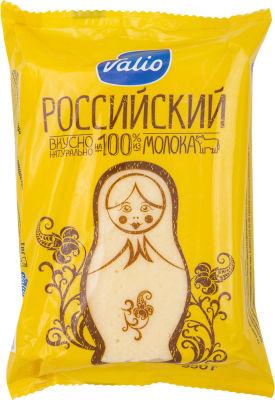 Сыр Valio Российский 50% 350г