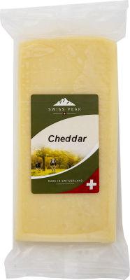 Сыр Swiss Peak Чеддер 50% 200г