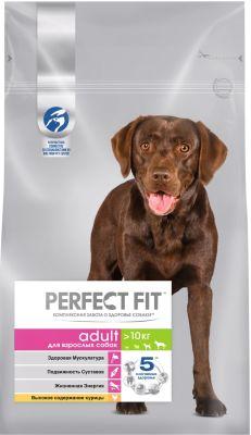 Сухой корм для собак Perfect Fit Adult с курицей 2.6кг