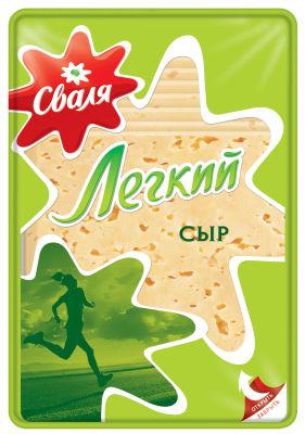 Сыр Сваля Легкий нарезка 35% 150г